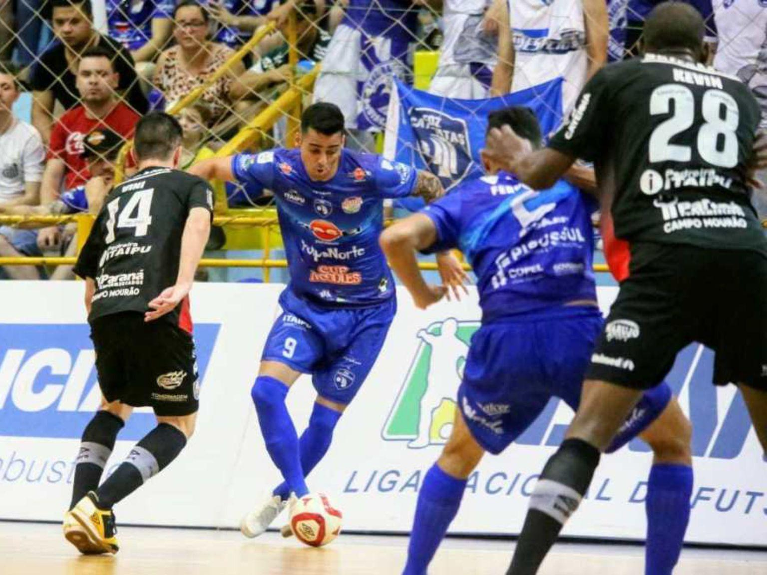 Foz Cataratas Futsal recebe o time de Guarapuava no Costa Cavalcanti